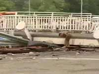 Nehru Stadium Bridge Collapses