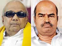 Karunanidhi and Thangabalu