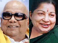 Karunanidhi and Jayalalitha