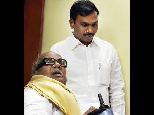 Karunanidhi and Raja