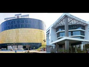 New Secretariat Building and Anna Centenary Library