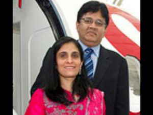 Kalanidhi with Kavery Maran