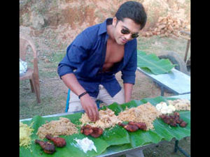 Simbu with Briyani