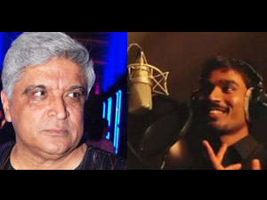 Javed Akhtar and Danush