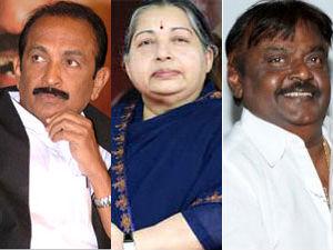 Vaiko, Jayalalitha and Vijayakanth