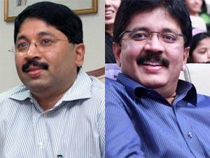 Dayanidhi Maran and Kalanithi Maran