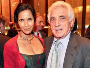 Padma Lakshmi and Forstmann