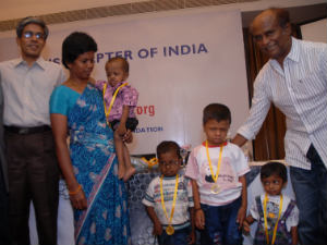 Rajini Inaugurates Organisation Cystinosis Affected