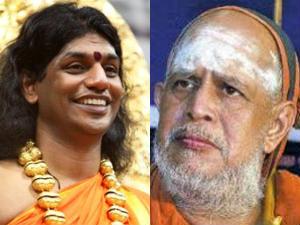 Nithyanantha Slams Kanchi Jayendrar Comments Ranjitha