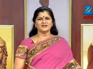 Zee Tamil Solvathellam Unmai