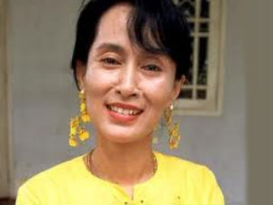 Suu Kyi Receives Nobel Peace Prize 21 Years Late