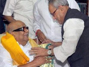 Pranab Mukherjee Chennai Presidential Poll Campaign
