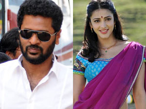 Shruti Haasan Not Finalised Prabhu Deva