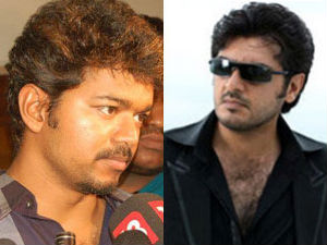 Ajith Vijay Fans Attack Each Other In Tirupur