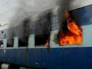 Fire on Tamil Nadu Express