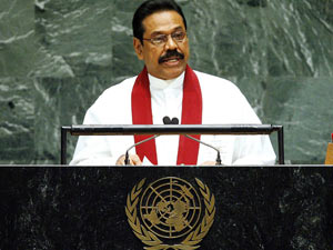 Towards Consensual Solution Rajapaksa
