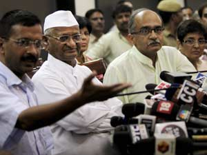Anna Hazare Does An Abortion