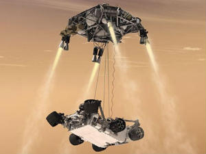 Mars Rover Curiosity Near Make Or Break Landing Attempt