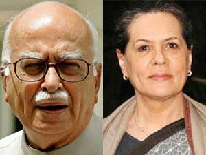 Sonia Loses Cool Over Advani S Remark