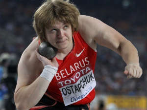 Olympic Shot Put Champion Is Stripped Of Gold