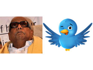 Karunanidhi Is Happy With His Twitter