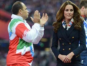 Iranian Athlete Refuses Shake Duchess Of Cambridge