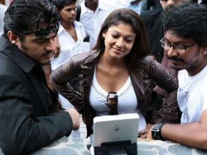 Nayanthara Attends Shooting Chennai