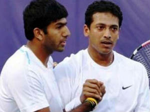 Mahesh Bhupathi and Bopanna