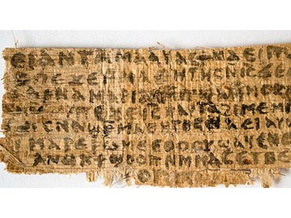 proof jesus was married found on ancient papyrus