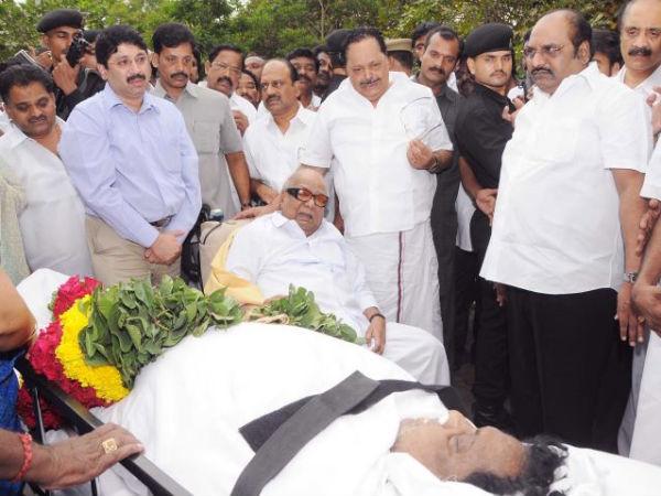 former minister veerapandi arumugam dead