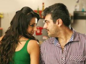 Ajith Is Trisha S All Time Favourite