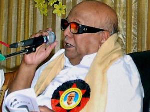Karunanidhi Speaks On Stalled Expressway