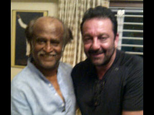 Rajinikanth Sanjay Dutt Team Up For Film