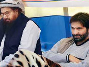 Yasin Malik, Hafiz Saeed come together to mourn Afzal Guru's execution