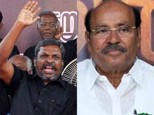 Thirumavalavan and Ramadoss