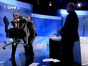 Two Guests Scuffle On Live Lebanese