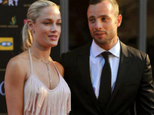 Pistorious with Reeva