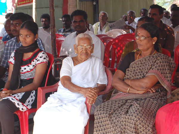 vaiko s 91yer old mother on fast seeking tamil eelam