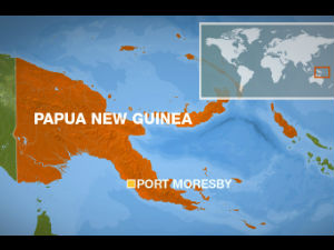 Strong earthquake rattles Papua New Guinea