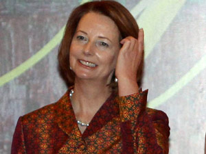 The letter that made Prime Minister Julia Gillard cry