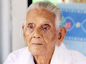 Indo-Fijian woman turns 101