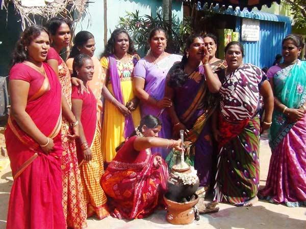 கருணாநிதி, ராமதாஸ், கொண்டாடிய பொங்கல் திருவிழா 15-1389767760-pongal-fest2-600