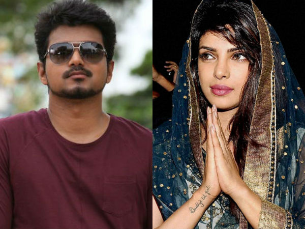 Priyanka Chopra to pair Vijay