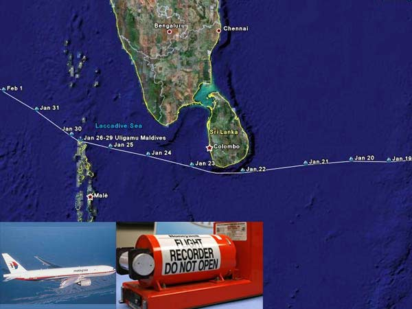 Pingers of MH 370 fades from today