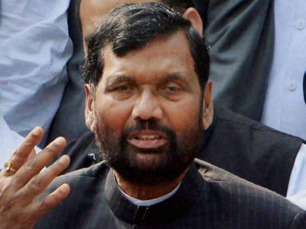 Paswan discloses he divorced first wife in 1981