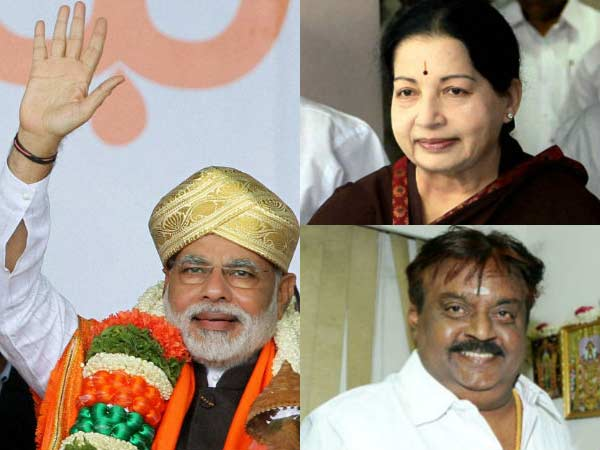 CM Jayalalithaa is likely to attend NarendraModi's swearing-in ceremony in Delhi