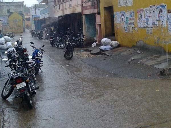 Rain calms down heat in north Tamilnadu