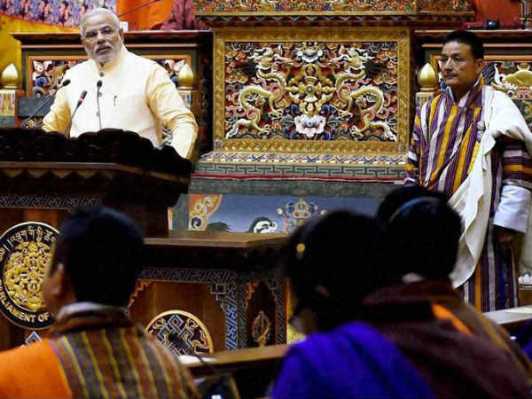 Bhutanese clap to make an exception for Modi