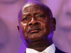 Ugandan TV station ban after president shown 'sleeping'