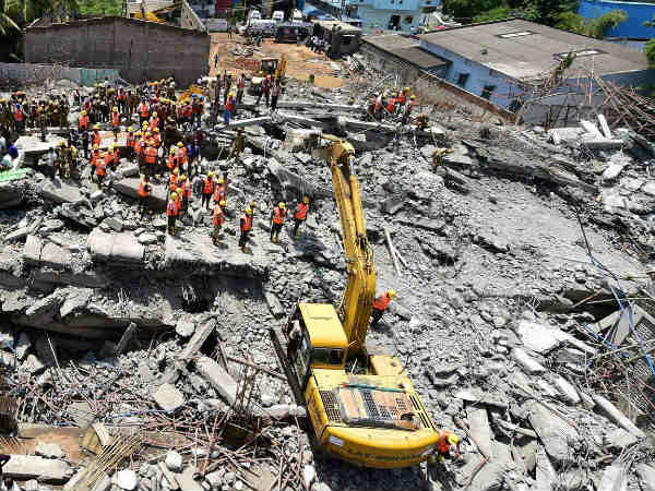 Odisha labourers feared trapped inside collapsed building in Chennai